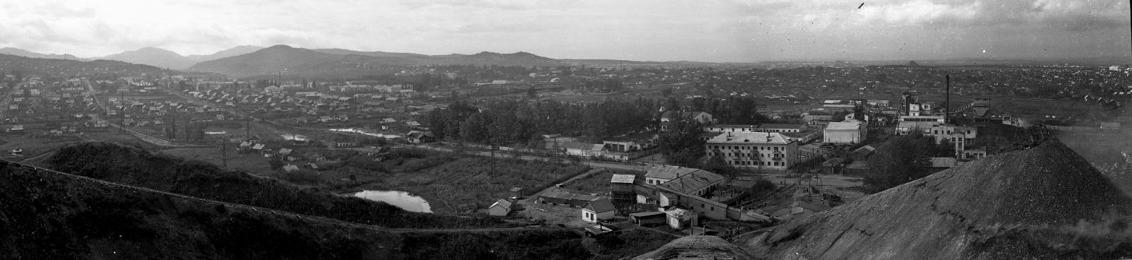 панорама вид с терреконника